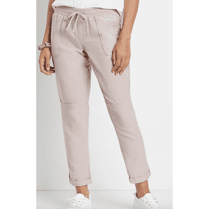 Maurices Women's Weekend Pants for $11