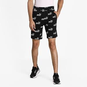"PUMA Men's Amplified 9"" Shorts, Black, XXL for $18"