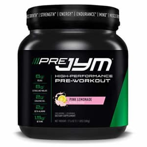 Pre JYM Pre Workout Powder - BCAAs, Creatine HCI, Citrulline Malate, Beta-Alanine, Betaine, and for $87