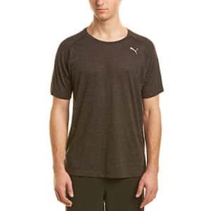 PUMA Men's Energy Essential T-Shirt, Dark Gray Heather, S for $20