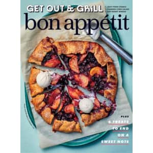 Bon Appetit 1 Year Print Subscription (10 issues): Complimentary