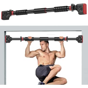 Shinyever Pull Up Bar for Doorway for $18