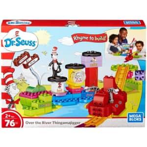 Mega Bloks Dr. Seuss Over the River Thingamajigger for $18