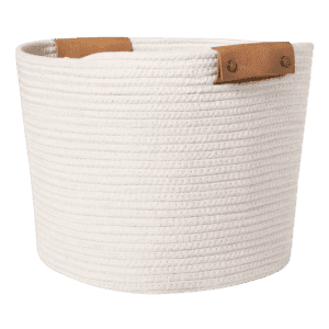 Threshold 13″ Decorative Coiled Rope Basket for $10