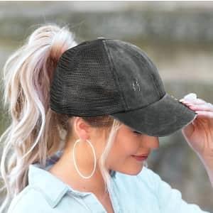 Rivaspsm Women's Ponytail Hat for $10
