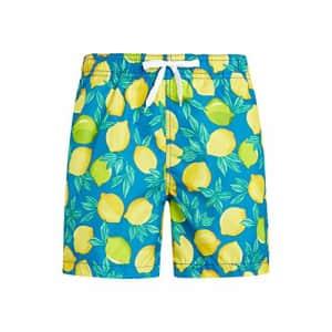 Kanu Surf Men's Monaco Swim Trunks, Lemons Royal, Small for $20