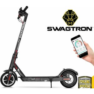 Used Swagtron Swagger 5 Foldable Electric Scooter for $187 in cart