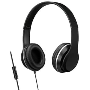 iLive Wired Headphones with Mic for $8