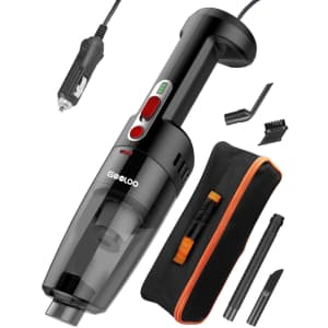 Gooloo 12V DC Handheld Car Vacuum Cleaner for $30