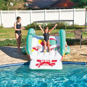 WOW Pool Party Slide for $100 for members