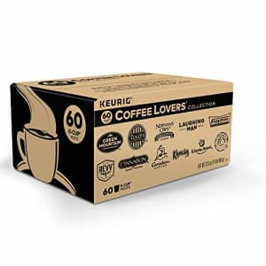 Keurig Coffee Lovers' Collection Variety Pack, Single-Serve Coffee K-Cup Pods Sampler, 60 Count for $34