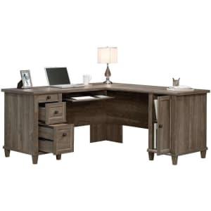 """Sauder Hammond 65"""" L-Shaped Desk for $555"""
