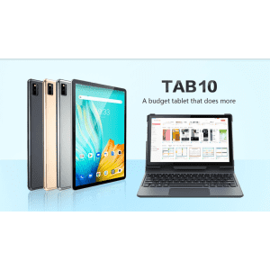 """Blackview Tab 10 10.1"""" Slim 4G 64GB Android 11 Tablet for $140"""