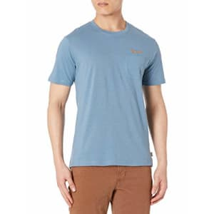 Rip Curl Men's Big Boys' Salt Water Culture Pocket TEE Shirt, Dusty Blue, M for $19
