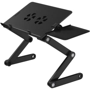 Adjustable Laptop Stand w/ 2 Fans for $16