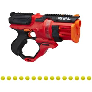 Nerf Rival Roundhouse XX-1500 Red Blaster for $25