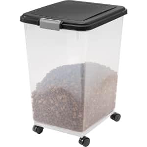 Iris USA 69-Qt. Airtight Pet Food Storage Container for $24