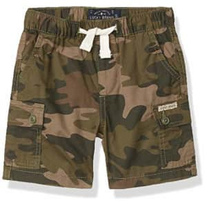 Lucky Brand Boys' Pull on Shorts, Dusty Olive Cargo, 7 for $26