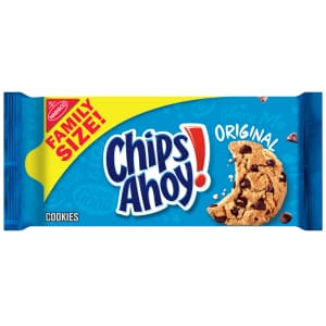 Nabisco Chips Ahoy! 18.2-oz Original Chocolate Chip Cookies for $3