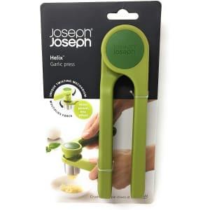 Joseph Joseph Helix Garlic Press for $9