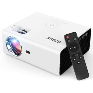 Azeus 5,000-Lumens Video Projector for $150