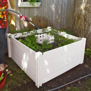 Vita 4x4-Ft. Keyhole Composting Raised Garden Bed for $140 for members