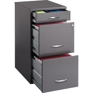 Office Designs 3-Drawer Vertical File Cabinet for $84