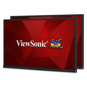 ViewSonic VG2448_H2 24 Inch Dual Pack Head-Only IPS 1080p Monitors with HDMI DisplayPort USB for for $390