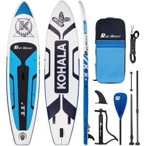 Runwave Inflatable Stand Up Paddle Board Kit for $239