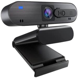 Winchar 1080p Auto Focus Webcam with Privacy Shutter for $40