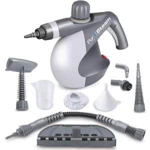 PurSteam Handheld Pressurized Steam Cleaner for $50
