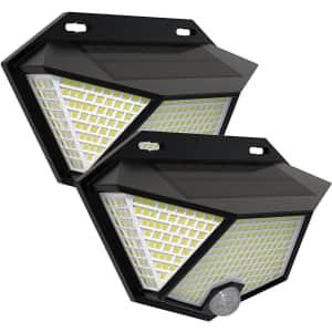 Sefon LED Solar Light 2-Pack for $14
