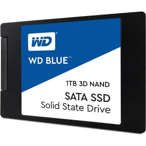 WD Blue 3D NAND 6Gbps SATA 1TB Internal SSD for $99