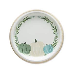 American Greetings 6442682 Thanksgiving Party Supplies, Thanksgiving Medley Paper Dinner Plates for $10