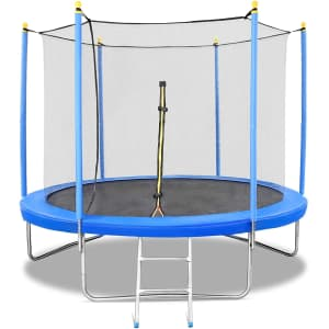 Naipo 8-Ft. Trampoline with Safety Net for $120