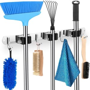 Mop and Broom Holder for $7