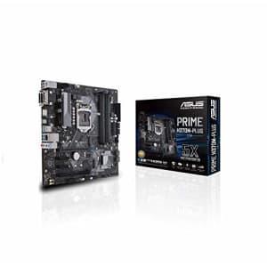 ASUS Prime H370M-Plus/CSM LGA1151 (300 Series) DDR4 HDMI DVI VGA M.2 mATX Motherboard (PRIME for $128