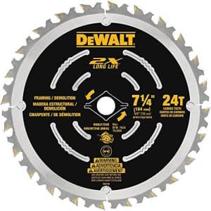"""DEWALT DWA35724DB10 Demolition Saw Blade (10 Pack), 7-1/4"""" for $24"""