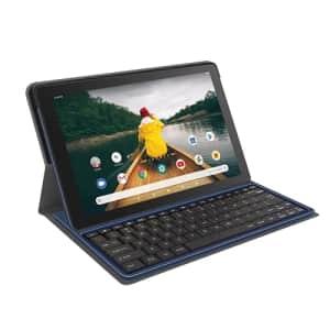 "RCA 10"" Viking II Pro Quad-Core 2GB RAM 32GB Storage Touchscreen WiFi Bluetooth with Detachable for $110"