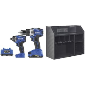 Kobalt 2-Tool 24-Volt Max Lithium Ion Brushless Power Tool Combo Kit for $149