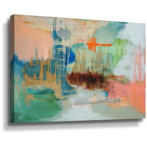 """ArtWall """"From the Ashes"""" 36"""" x 24"""" Canvas Wall Art for $43"""