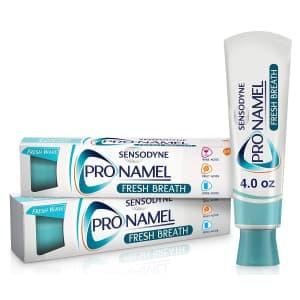 Sensodyne ProNamel 4-oz. Toothpaste 2-Pack for $6.78 via Sub & Save