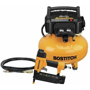 Bostitch BTFP1KIT 0.8-HP 6-gallon portable air compressor for $203