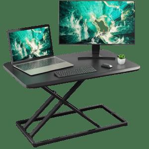 Huanuo Height Adjustable Standing Desk Converter for $86