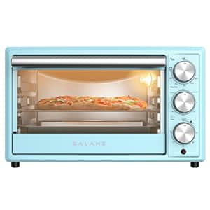 Galanz GRH1209BERM151 Retro Toaster Oven, True Convection, Indicator Light, 8 Cooking Programs, for $113