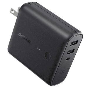 Anker PowerCore Fusion 5,000mAh Portable Charger for $18