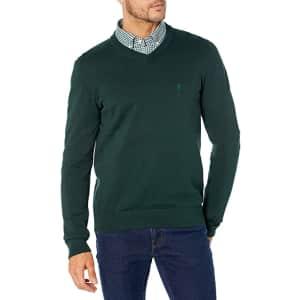 Izod Men's Premium Essentials 12 Gauge Sweater for $11