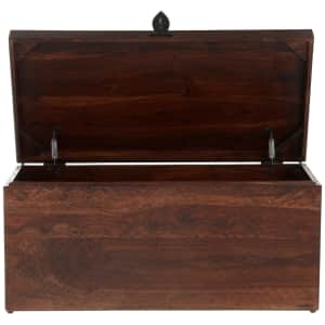 Home Decorators Collection Maldives Solid Hardwood Storage Coffee Table for $247
