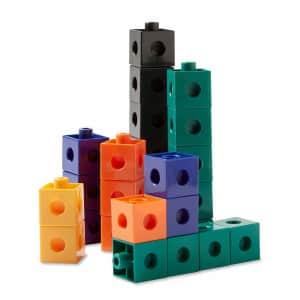Hand2mind Interlocking Pop Cube 100-Pack for $8