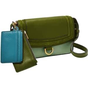 Fossil Millie Mini Leather Bag for $58